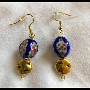Cloisonné-inspired Earrings